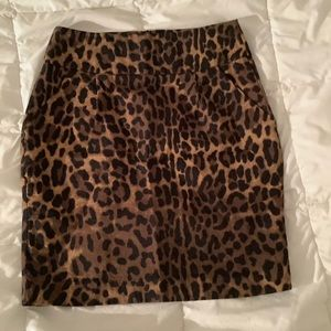 Cheetah print Forever 21 mini skirt - size S